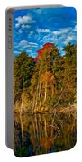 Autumn Reflection II Portable Battery Charger