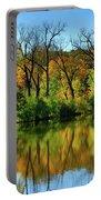 Autumn Reflections On Salt Creek IIi Portable Battery Charger