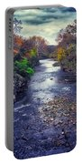 Autumn Riders On The Storm Portable Battery Charger