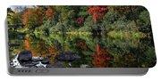 Autumn River Landscape Portable Battery Charger