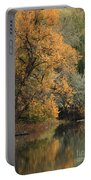 Autumn Riverbank Portable Battery Charger
