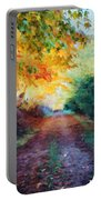 Autumn Road Portable Battery Charger