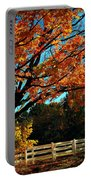 Autumn Rows Portable Battery Charger