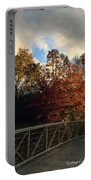Autumn Rust Portable Battery Charger