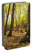 Autumn Scenery Portable Battery Charger