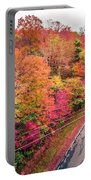 Autumn Season And Color Changing Leaves Season Portable Battery Charger