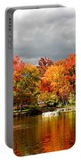 Autumn Storm Coming Portable Battery Charger