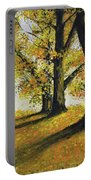 Autumn Sunny Day Portable Battery Charger