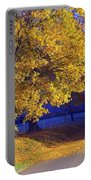 Autumn Sunrise In The Country Portable Battery Charger