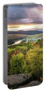 Autumn Sunset In The Catskills Portable Battery Charger
