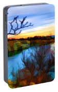 Autumn Sunset Portable Battery Charger