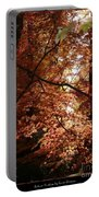 Autumn Sunshine Poster Portable Battery Charger by Carol Groenen