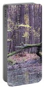 Autumn Theme Portable Battery Charger