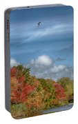 Autumn Tranquility Portable Battery Charger