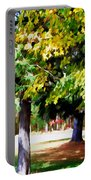 Autumn Trees 7 Portable Battery Charger
