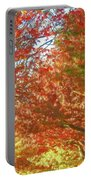 Autumn Trees Digital Watercolor Portable Battery Charger