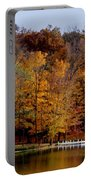 Autumn Trees Portable Battery Charger