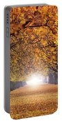 Autumn Tunnel Portable Battery Charger
