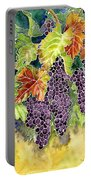 Autumn Vineyard In Its Glory - Batik Style Portable Battery Charger