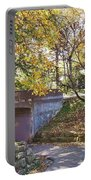 Autumn Walk In The Park Portable Battery Charger