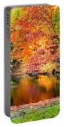 Autumn Warmth Portable Battery Charger