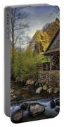 Autumn Water Wheel Portable Battery Charger