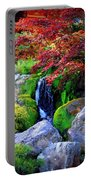 Autumn Waterfall Portable Battery Charger