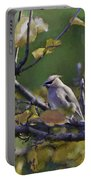 Autumn Waxwing 2 Portable Battery Charger