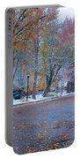 Autumn Winter Street Light Color Portable Battery Charger by James BO  Insogna