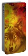 Autumn Wolf Portable Battery Charger