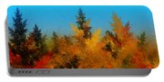 Autumnal Forest Portable Battery Charger