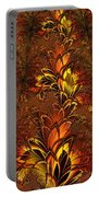 Autumnal Glow Portable Battery Charger
