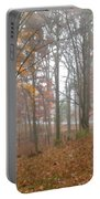 Autumnal Mist Portable Battery Charger