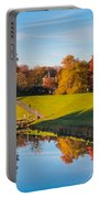 Autumnal Scene Portable Battery Charger
