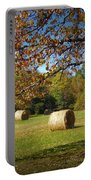 Autumnal Scenery Along Helmstetler Road Portable Battery Charger