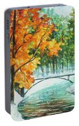 Autumn's End Portable Battery Charger