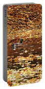 Autumns Mallards Portable Battery Charger