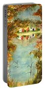 Autumn's Peaceful Abode  Portable Battery Charger