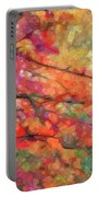 Autumns Splendorous Canvas Portable Battery Charger