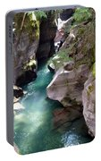Avalanche Creek Glacier National Park Portable Battery Charger