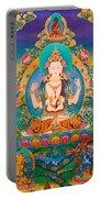 Four-armed Avalokiteshvara Portable Battery Charger