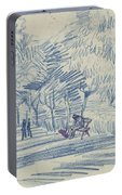 Avenue In A Park Arles, May 1888 Vincent Van Gogh 1853 - 1890 Portable Battery Charger