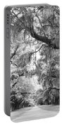 Avenue Of Oaks Charleston South Carolina Portable Battery Charger
