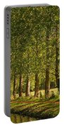 Avenue Of Trees On The Kennet And Avon Canal Portable Battery Charger