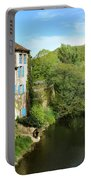 Aveyron River In Saint-antonin-noble-val Portable Battery Charger