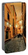 Avignon Alley At Sunset Portable Battery Charger