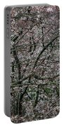 Awash In Cherry Blossoms Portable Battery Charger