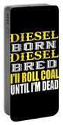 Awesome Diesel Design Born And Bred Portable Battery Charger