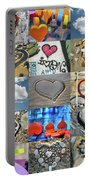 Awesome Hearts - Collage Portable Battery Charger