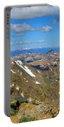 Awesome View From The Mount Massive Summit Portable Battery Charger